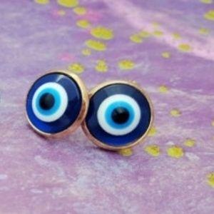 🧿 Evil Eye Stud Earrings 🧿